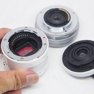 9000円で買える魚眼レンズをOLYMPUS AIRに取り付けたぞ!