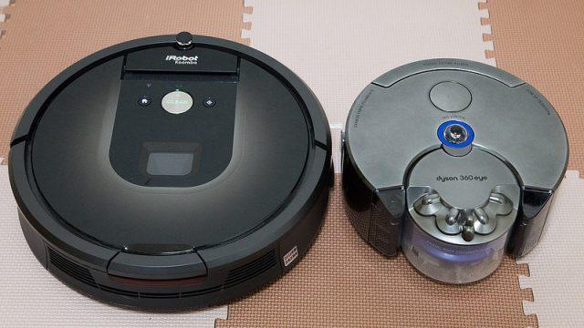 ダイソン360eye VS ルンバ980!最新ロボット掃除機2製品を比較してみたぞ!