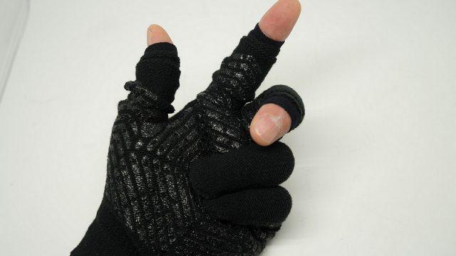 【Ingressにも】最強のスマホ手袋!指先穴あき手袋が便利だぞ!