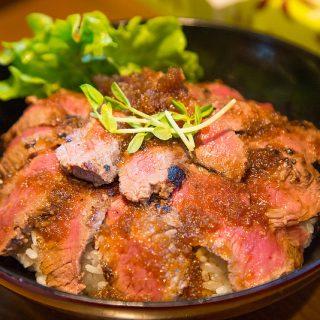 蒲田「肉丼の店」は肉好きなら飛んで行け!ローストビーフ丼・ステーキ丼がスゴイぞ!