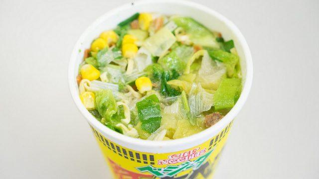【新商品】1日の野菜の1/3が取れるカップヌードル「ベジータ豚キャベツ」が発売だぞ!