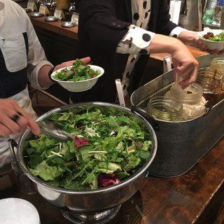 ヒカリエでサラダバー付き肉ランチ!ゆったりした時間の時に「ザ ミート&ラボラトリー」のランチが良いぞ!