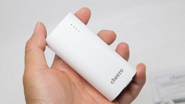cheero史上最安モバイルバッテリー!5200mAhで最初の1台に最適だぞ!