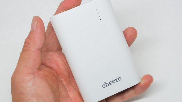 cheeroからコンパクトで1万mAhの新型モバイルバッテリー「PowerPlus3 10050mAh」が発売だぞ!