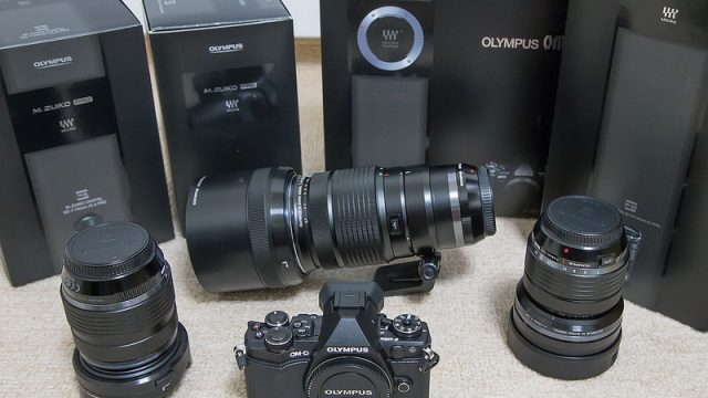 豪快に買っちゃった!持ち歩き用カメラとしてOM-D E-M5 Mark2と大三元PROレンズを勢いで購入したぞ!