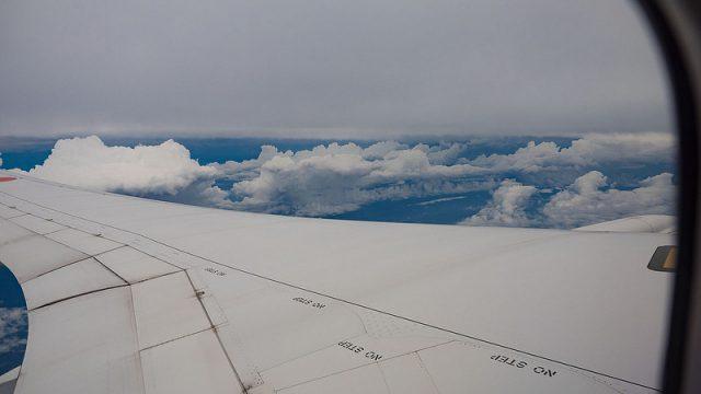 台風の中飛行機に乗って改めて日本の交通網に感謝したぞ!