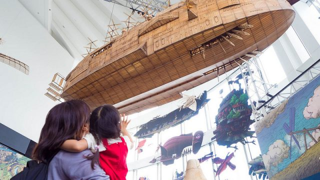 六本木で開催されていたジブリの大博覧会に子連れで行ってきたぞ!