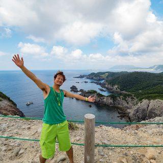 東京の離島「式根島」へ子連れ観光!1日目は絶景を眺め、海水浴で魚と泳いできたぞ!【PR】 #TOKYOREPORTER #TAMASHIMA #TOKYO #SHIKINEJIMA #式根島
