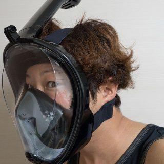 海に行くなら、フルフェイス型シュノーケリングマスクが最高に良いぞ!