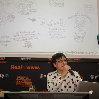 タムラカイの「ラクガキノート術実践編」出版記念イベント開催!ラクガキポーカーで会場中が1つになったぞ! #ハッピーラクガキナイト