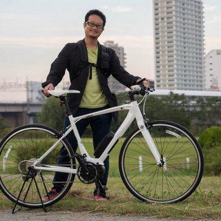 【発売前レビュー】YAMAHAの電動アシストクロスバイク「YPJ-C」を試乗中だぞ!