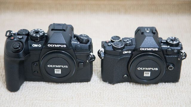【新発売】OM-D E-M1 MarkII購入!E-M5 MarkIIとの外観の違いを紹介するぞ!