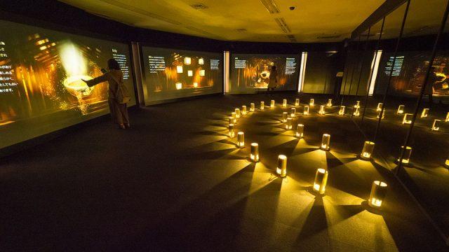 「食神さまの不思議なレストラン」は見て食べる体験型デジタルアート!和食×アートを体験してきたぞ! #tabegamisama