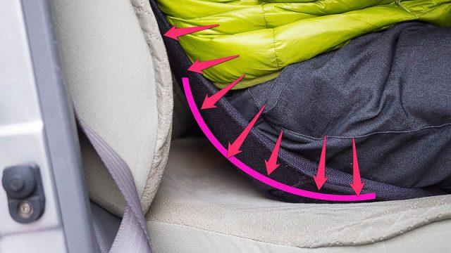運転中の腰痛対策に!骨盤を包み込むように使う「ZAFU DRIVING」が気持ち良いぞ!