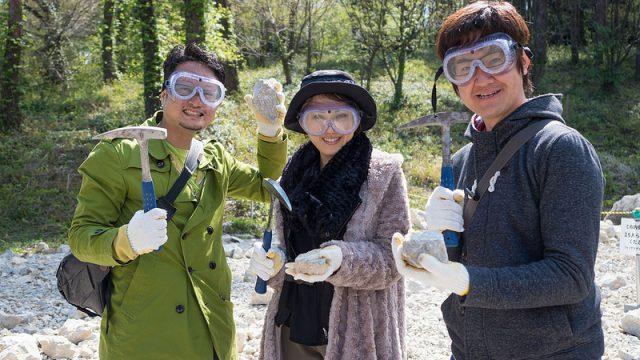 3億年前の化石堀り体験ができるっ!ヒスイも大量に展示がある「糸魚川フォッサマグナミュージアム」が最高だったぞ! #糸魚川たのしー