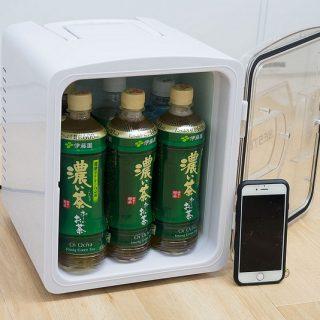 5000円台で買えるミニ冷蔵庫!車載も可能で書斎やオフィスにちょうどいいサイズだぞ!