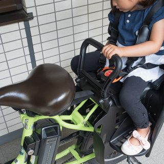 電動アシスト自転車「パスキッスミニ」に後部子どものせシートを取り付けたぞ!