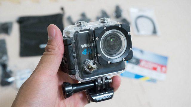 7000円台で買える4Kアクションカメラ!コンパクトで気軽に持ち運べるぞ!
