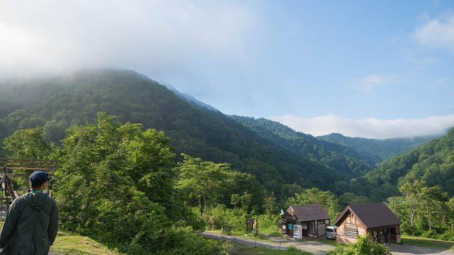 長野県小谷村観光!標高1200mのキャンプ場や露天風呂、絶品料理の温泉宿を堪能したぞ! #いちばん美しいところ