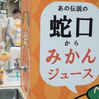 【愛媛】みかんジュースの出る蛇口!松山空港で体験できるぞ!