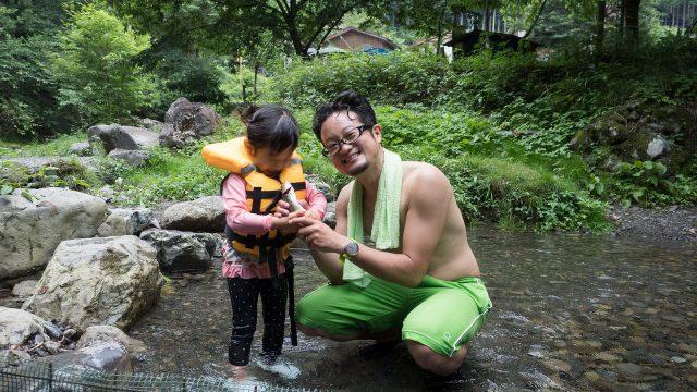 東京都 #檜原村 の #トラウトファーム秋川 で子どもと一緒に魚のつかみ取りや釣り体験!夏の旅行に最適だぞ!【PR】  #たま発 #tamahatsu