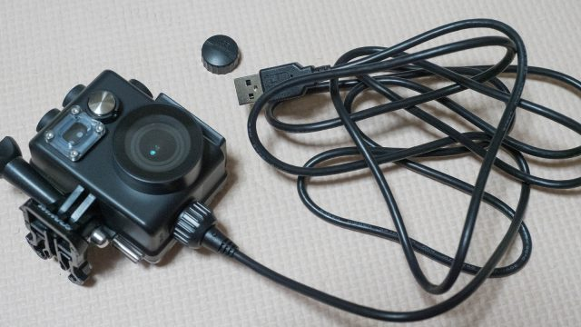 水中で充電しながら録画できるアクションカメラ「WiMiUS L2」!これ使い方考えるのが面白いぞ!