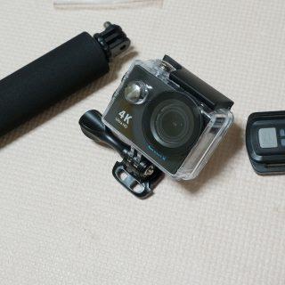 【割引クーポンあり】リモコン付きGoPro風4Kアクションカメラが7000円台!これはめっちゃ便利だぞ!