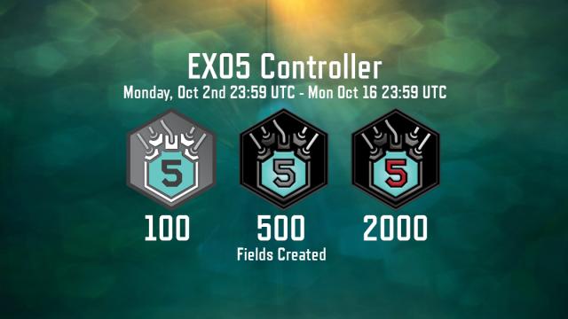 【Ingress】CF作りまくる2週間!今度の期間限定メダル「#EXO5 Controller」はCFの数だぞ!