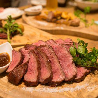 新宿で肉肉肉っ!5店舗が集まる『新宿名店横丁』の「ランプキャップ」で牛ステーキを堪能したぞ! #新宿名店横丁