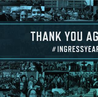 【Ingress】5周年記念でキーロッカー無料配布!R7と8が1人で2本挿せるAP2倍期間が始まったぞ! #IngressYear5 #Ingress