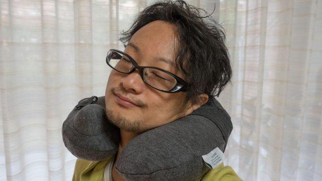 ポンプ内蔵ネックピローが衛生的で家族兼用の旅行・車載枕に最適だぞ!