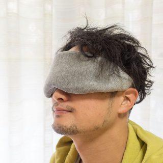 自宅や旅行に!ふわふわソフトアイマスクがめっちゃ気持ちが良いぞ!