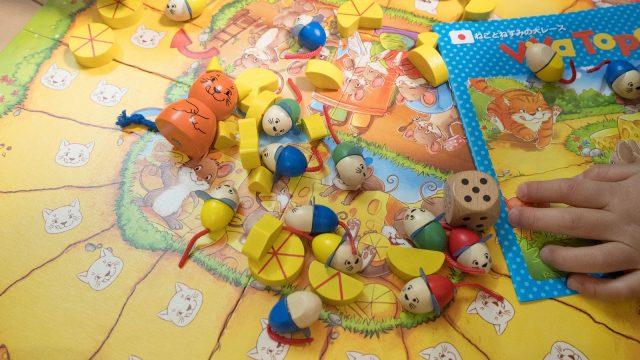 子どもも大人も楽しめる!「ねことねずみの大レース(Viva Topo!)」のボードゲームが盛り上がるぞ!