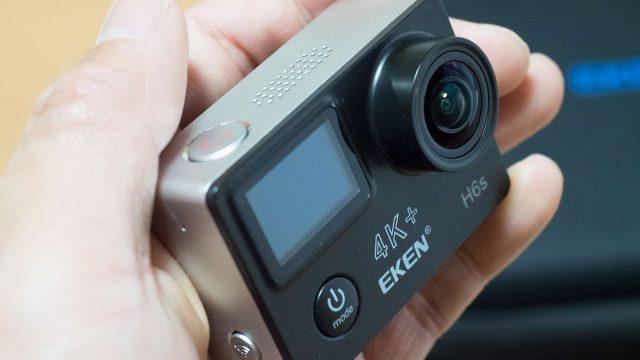 手ぶれ補正付きの1万円チョイの4Kアクションカメラ探しているなら「EKEN H6s」が良いぞ!