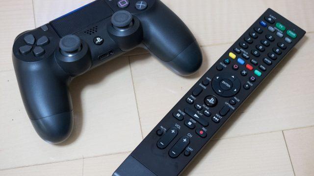 PS4で動画視聴してる奴は絶対これ買うべし!Blu-ray・DVD・YouTubeなど動画視聴がしやすくなるPS4対応リモコンがめっちゃ便利だぞ!