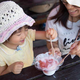 「サントリー 南アルプスの天然水」で作った「かき氷」が八ヶ岳PAなどで期間限定で食べられるぞ!