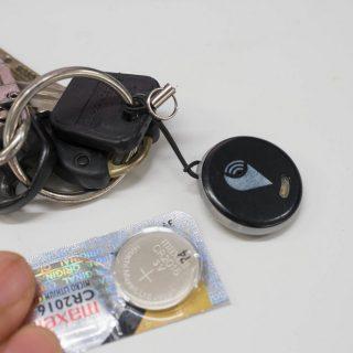 忘れ物追跡デバイス「TrackR」のバッテリーがなくなったので無償で取り寄せ・交換してみたぞ!