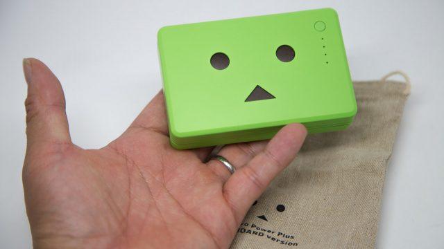 グリーン好きへ!cheero(チーロ)のダンボーバッテリーの緑が、山の日(8/11)にちなんで、今だけ割引中だぞ!