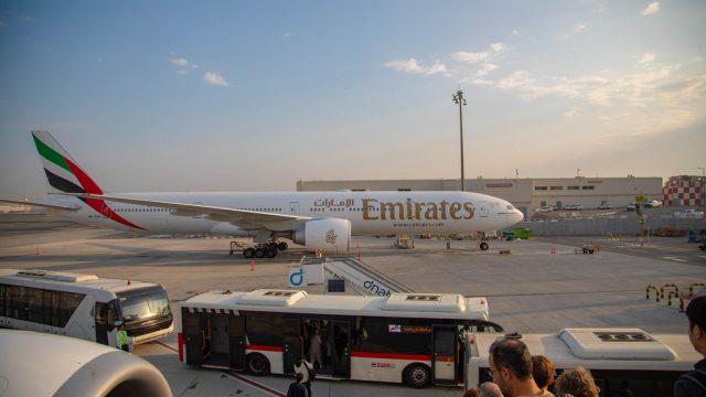 【チェコ旅】エミレーツ航空で羽田空港発ドバイ経由にてプラハに到着だぞ! #チェコへ行こう