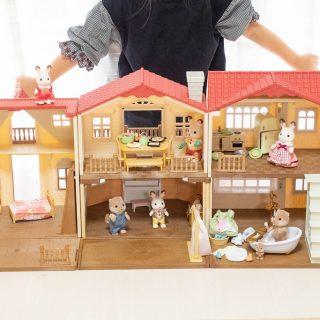 初めてのシルバニアファミリーなら!「赤い屋根のお家シリーズ」がオススメだぞ!