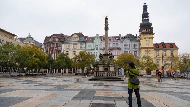 【チェコ旅】チェコ第三の都市オストラヴァ。古くてカラフルな街並みがめちゃくちゃ可愛いぞ! #チェコへ行こう