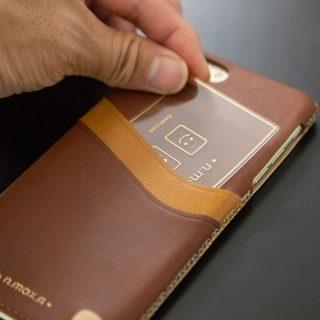おしゃれで落ち着いた本革のiPhoneケース「n.max.n」がクールだぞ!
