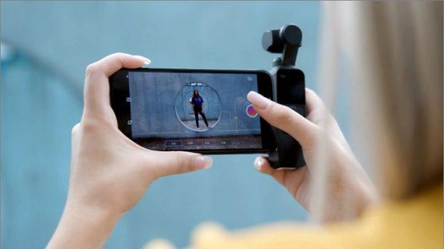 ドローンで有名なDJIからコンパクトな3軸ジンバル搭載カメラ「DJI Osmo Pocket」が発表だぞ!