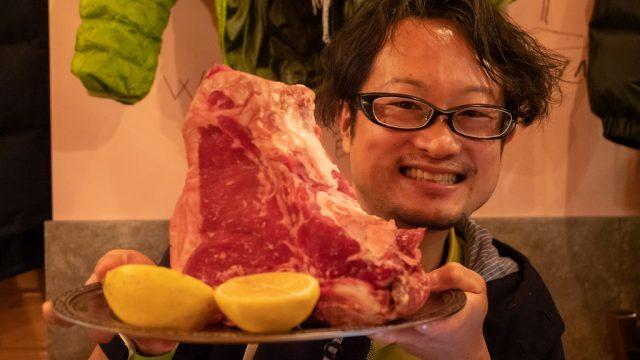 【門前仲町】イタリアンの「トラットリア ブカ・マッシモ」で2kgの肉塊を堪能したぞ!