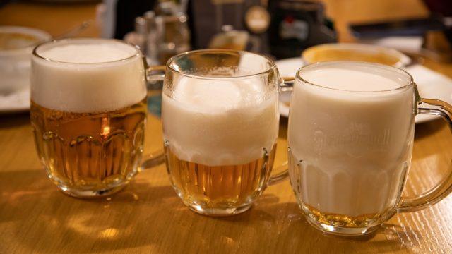 本場チェコでは、泡だらけのビール「ミルコ」の飲み方を楽しめるぞ! #cz100y #チェコへ行こう