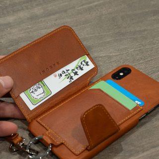 【XSやXS Max用も!】カード入れ付きiPhoneケース「RAKUNI」が便利だぞ!