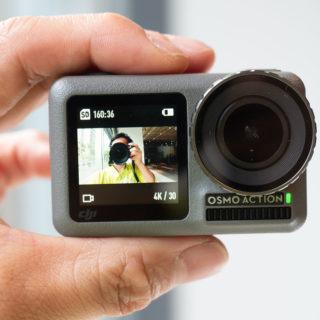 GoPro対抗!DJIのデュアルモニタのアクションカム「OSMO Action」が発売だぞ!