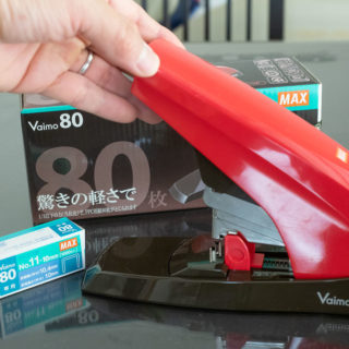 2〜80枚をとめられる次世代ホッチキス!「Vaimo80」は家庭用最強ホッチキスだぞ!