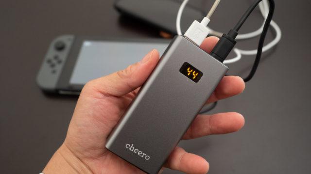 【新発売!】めちゃ小さいのに10000mAhモバイルバッテリー!cheero Power Plus 5がすごいぞ!