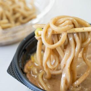 セブンイレブン限定!とみ田監修の濃厚豚骨魚介つけ麺がめちゃ美味いぞ!